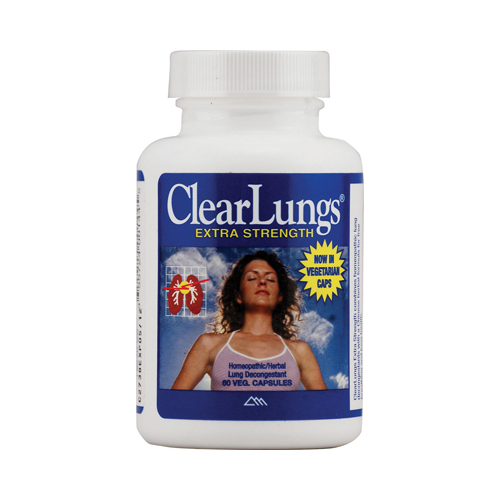 RidgeCrest Herbals ClearLungs Extra Strength - 60 Vegetarian Capsules