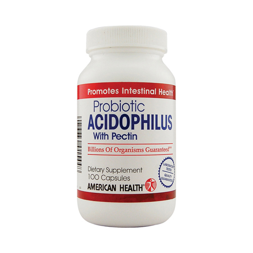 American Health Probiotic Acidophilus with Pectin - 100 Capsules