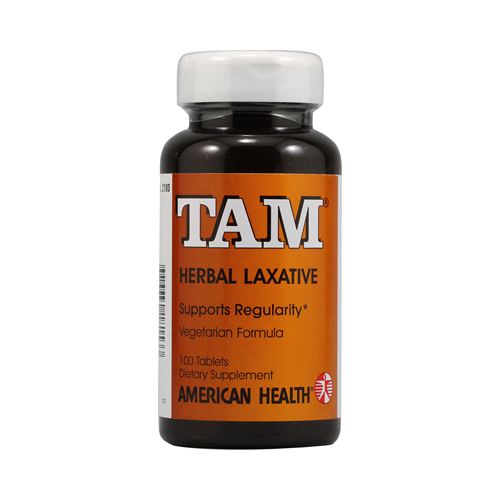 American Health Tam Herbal Laxative - 100 Tablets