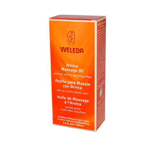 Weleda Massage Oil Arnica - 3.4 fl oz
