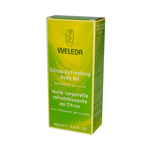 Weleda Refreshing Body Oil Citrus - 3.4 fl oz