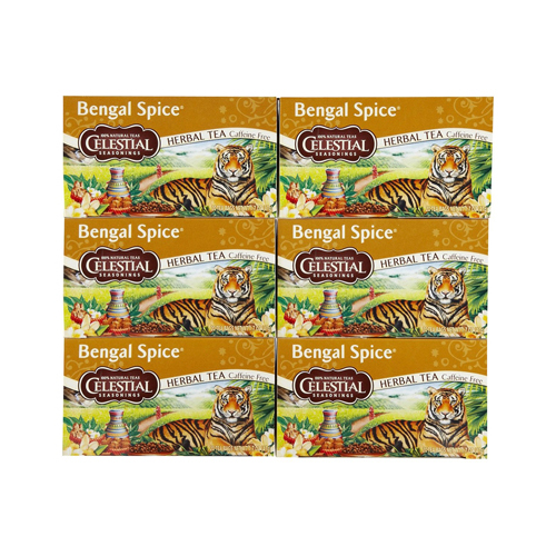 Celestial Seasonings Herbal Tea - Bengal Spice - Caffeine Free - 20 Bags