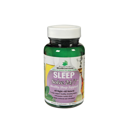 American Bio-Science Sleep Solve 24/7 - 30 Ct