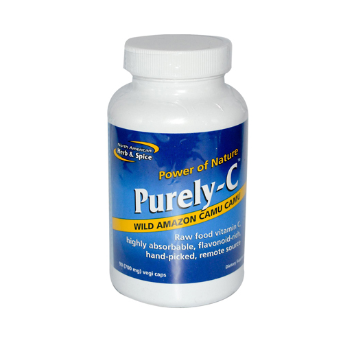 North American Herb and Spice Purely-C - 90 Vegetarian Capsules
