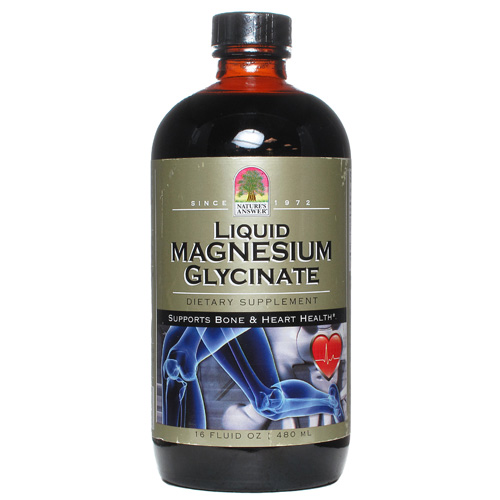 Nature's Answer Magnesium Malate and Glycinate - Liquid - 16 fl oz