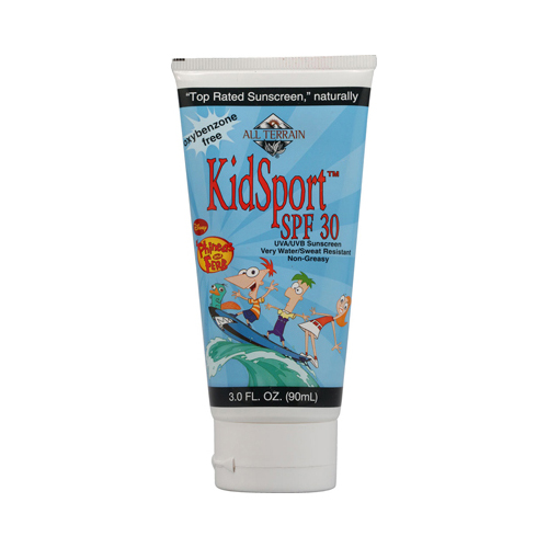 All Terrain Phineas and Ferb KiDisplayort SPF 30 Lotion - 3 fl oz