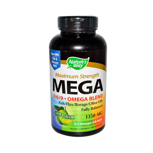 Nature's Way EFAGold MEGA - 180 Softgels