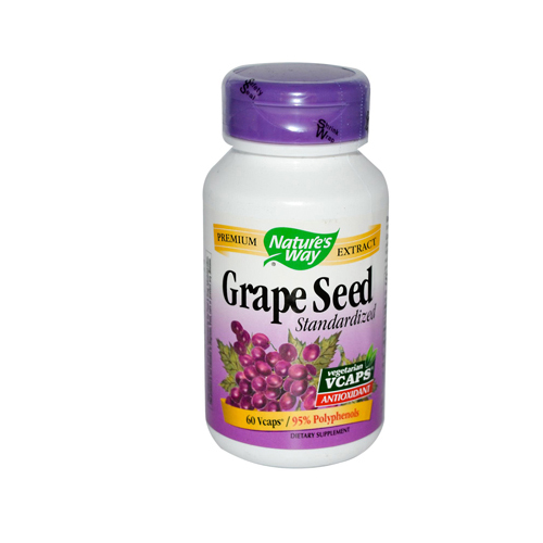 Nature's Way Grape Seed Standardized - 60 Vcaps
