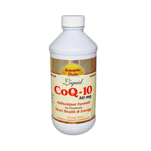 Dynamic Health CoQ-10 Liquid Orange - 50 mg - 8 fl oz