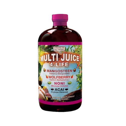 Only Natural Multi Juice 4 Life - 32 oz