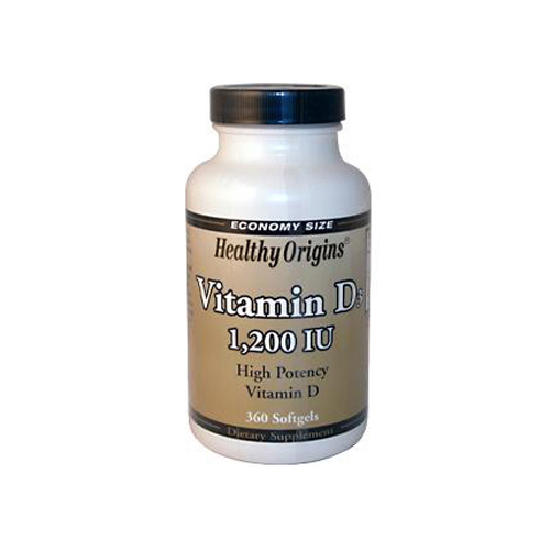 Healthy Origins Vitamin D3 - 1200 IU - 360 Softgels