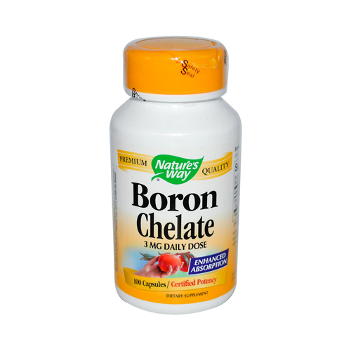 Nature's Way Boron Chelate - 100 Capsules
