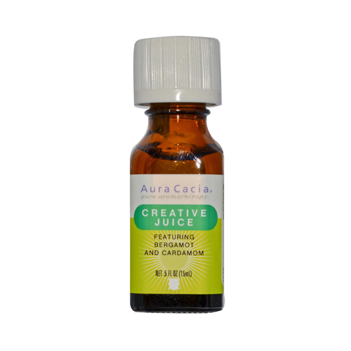 Aura Cacia Essential Solutions Oil Creative Juice - 0.5 fl oz