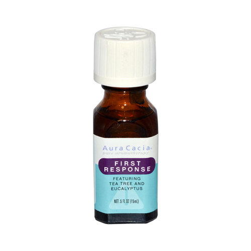 Aura Cacia Essential Solutions Oil First Response - 0.5 fl oz