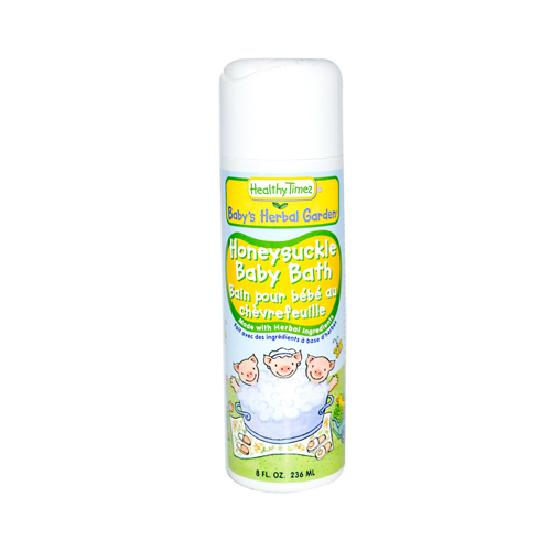 Healthy Times Baby Bath Honeysuckle - 8 fl oz