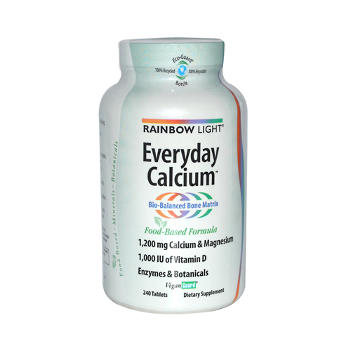 Rainbow Light Everyday Calcium - 240 Tablets