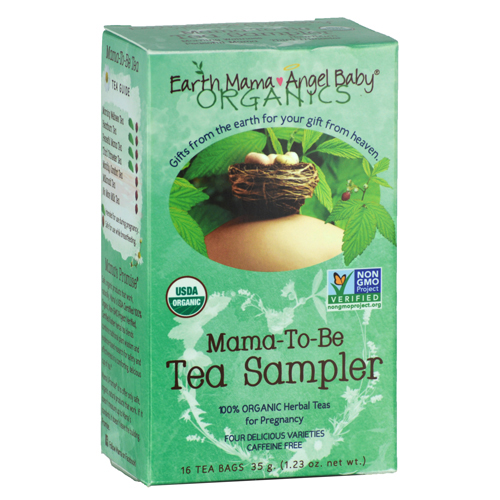 Earth Mama Angel Baby Mama-To-Be Tea Sampler - 16 Tea Bags