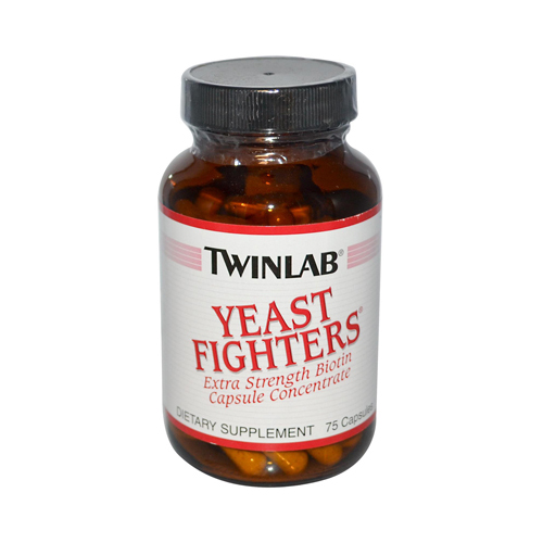 Twinlab Yeast Fighters - 75 Capsules