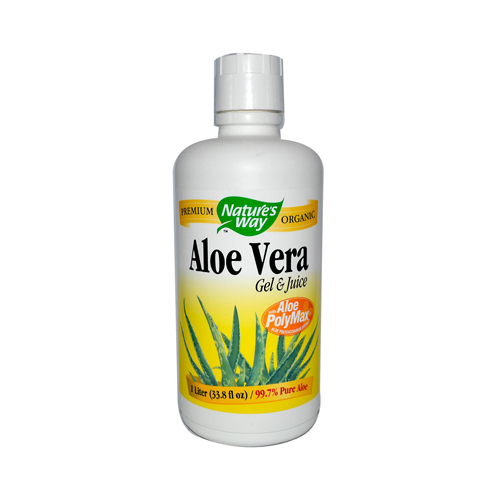 Nature's Way Aloe Vera Gel and Juice - 33.8 fl oz