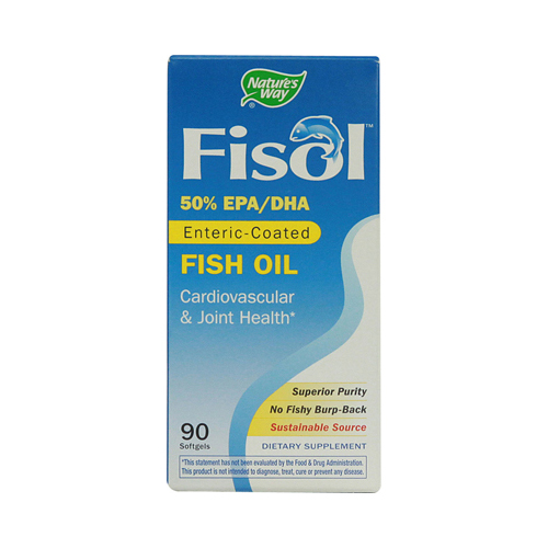 Nature's Way Fisol Fish Oil - 90 Softgels