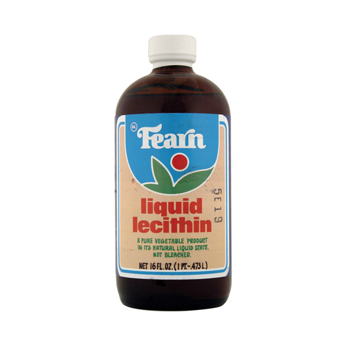 Fearn Liquid Lecithin - 16 fl oz - Case of 12