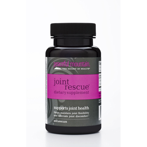 Peaceful Mountain Joint Rescue Dietary Supplement - 60 Caps