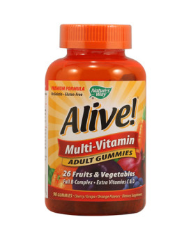 Nature's Way Alive Multi-Vitamin Adult Gummies - 90 Gummies