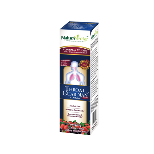 NaturaNectar Throat Guardian - Bee Berry - 30 ml