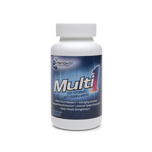 Nutrition53 Multi1 Daily Performance Multi-Vitamin and Mineral - 120 Caps