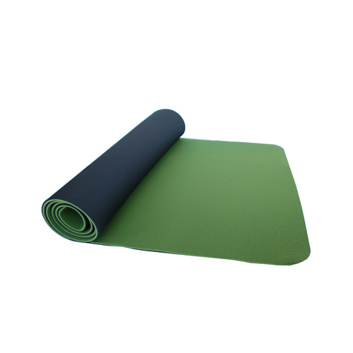 Thinksport Yoga Mat - Black/Green Avocado