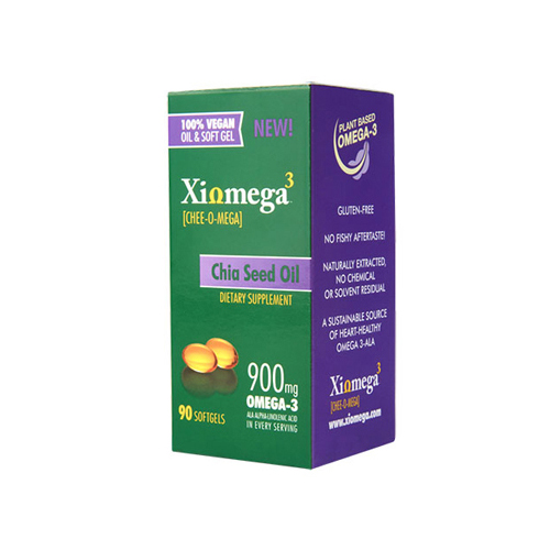Xiomega3 Chia Seed Oil Softgels - 90 softgels