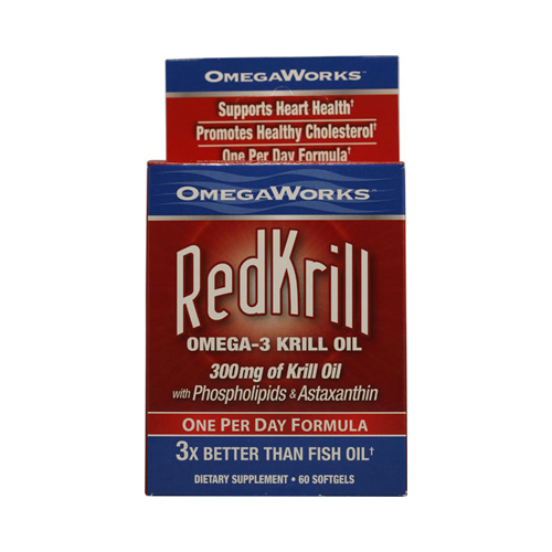 Omegaworks Red Krill - 60 Ct
