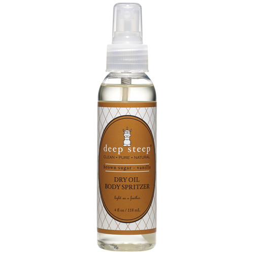 Deep Steep Dry Oil Body Spritzer - Brown Sugar Vanilla - 4 fl oz