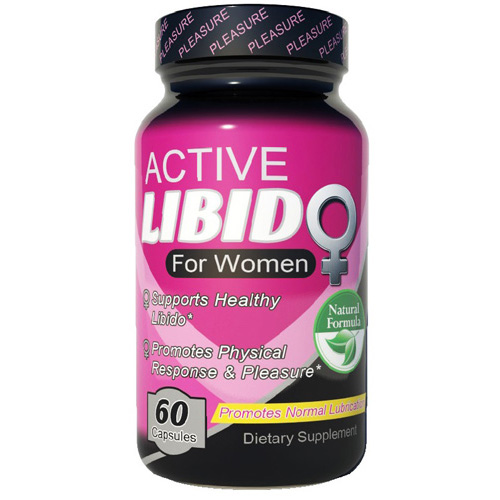 Fusion Diet Systems Active Libido - Women - 60 Capsules