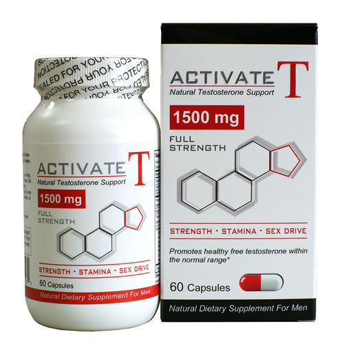 Fusion Diet Systems Activate T - 1500 mg - 60 Capsules