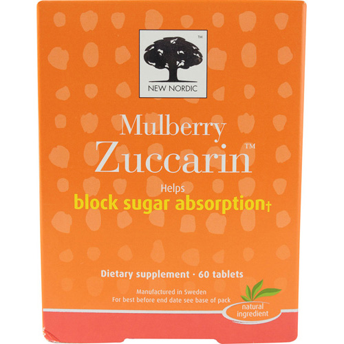 New Nordic Mulberry Zuccarin - 60 Tablets
