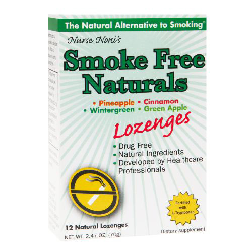 Three Lollies Smoke Free - Natural Lozenges - 12 Count