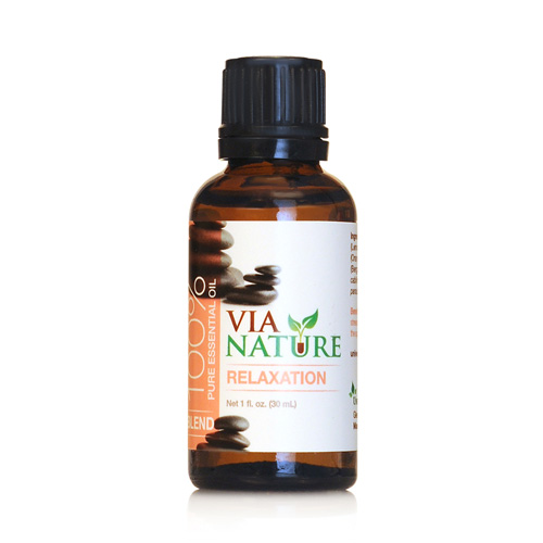 Via Nature Essential Oil Blend - Relaxation - 1 fl oz