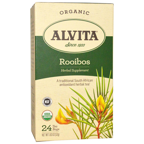 Alvita Tea - Organic - Rooibos Herbal - 24 Tea Bags