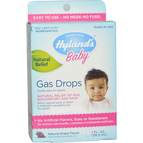 Hylands Homeopathic Baby Gas Drops - 1 fl oz