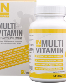 Inbalance Health Supplements INSupport Multi Vitamin - 60 Tablets