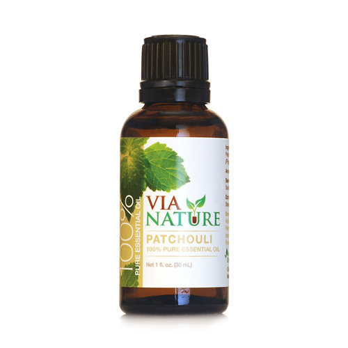 Via Nature Essential Oil - 100 Percent Pure - Patchouli - 1 fl oz