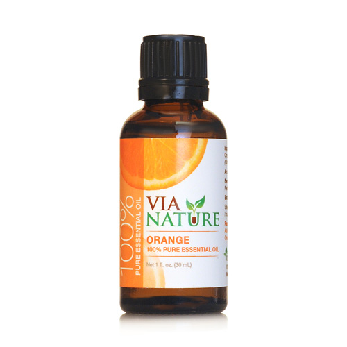 Via Nature Essential Oil - 100 Percent Pure - Orange - 1 fl oz