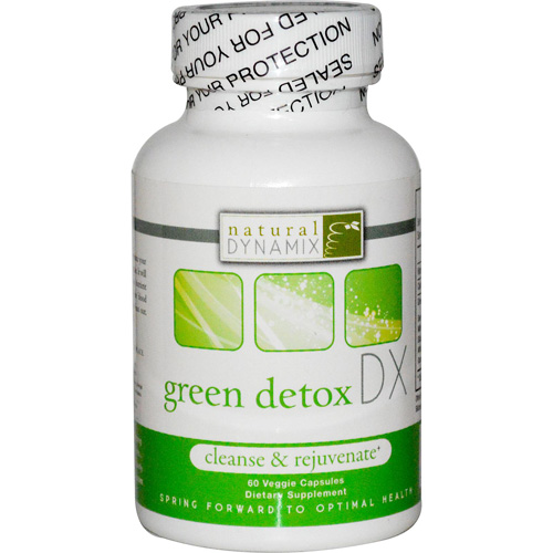 Natural Dynamix DX Green Detox DX - 60 Vegetarian Capsules