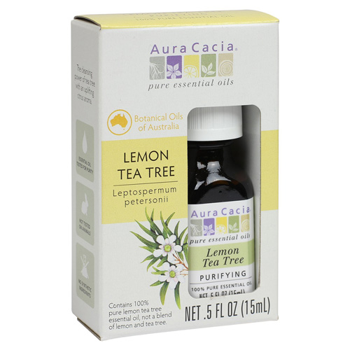Aura Cacia Essential Oil - Pure - Lemon Tea Tree - .5 fl oz