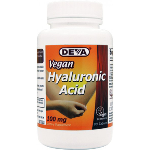 Devan Vegan Vitamins Hyaluronic Acid - 100 mg - Vegan - 90 Tablets