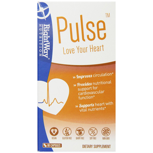 Rightway Nutrition Pulse - 60 Capsules