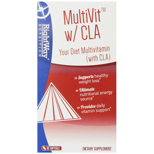 Rightway Nutrition MultiVit with CLA - 60 Softgels