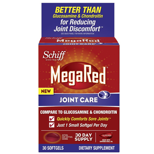 Schiff Vitamins Joint Care - MegaRed - 30 Softgels