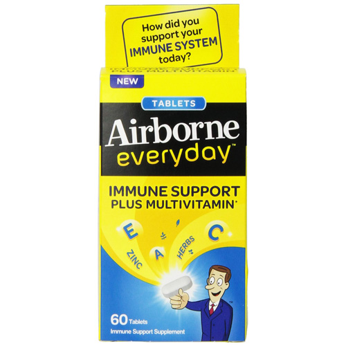 Airborne Everyday Multivitamin Tablets - 60 Tablets